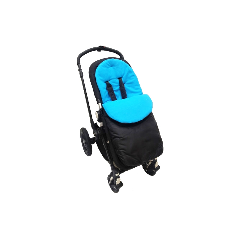 Kiddies Kingdom Showerproof Pushchair Footmuff-Turqoise