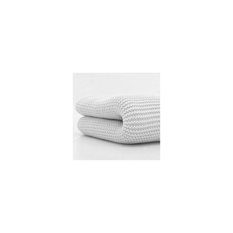 Kiddies Kingdom Deluxe Cot/Cotbed Cellular Blanket-White