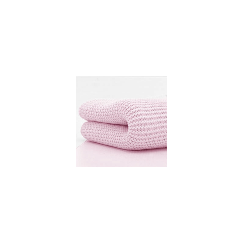 Kiddies Kingdom Deluxe Cot/Cotbed Cellular Blanket-Pink