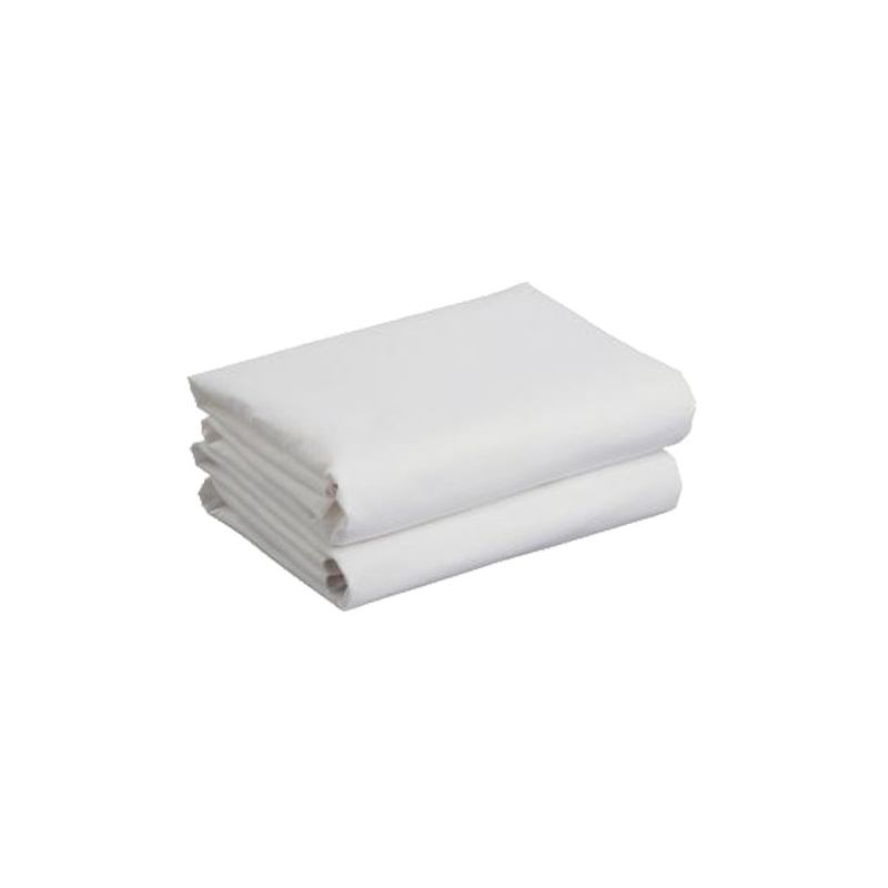 Kiddies Kingdom Deluxe 2 Pack Cot Jersey Fitted Sheet-White (120 x 60)