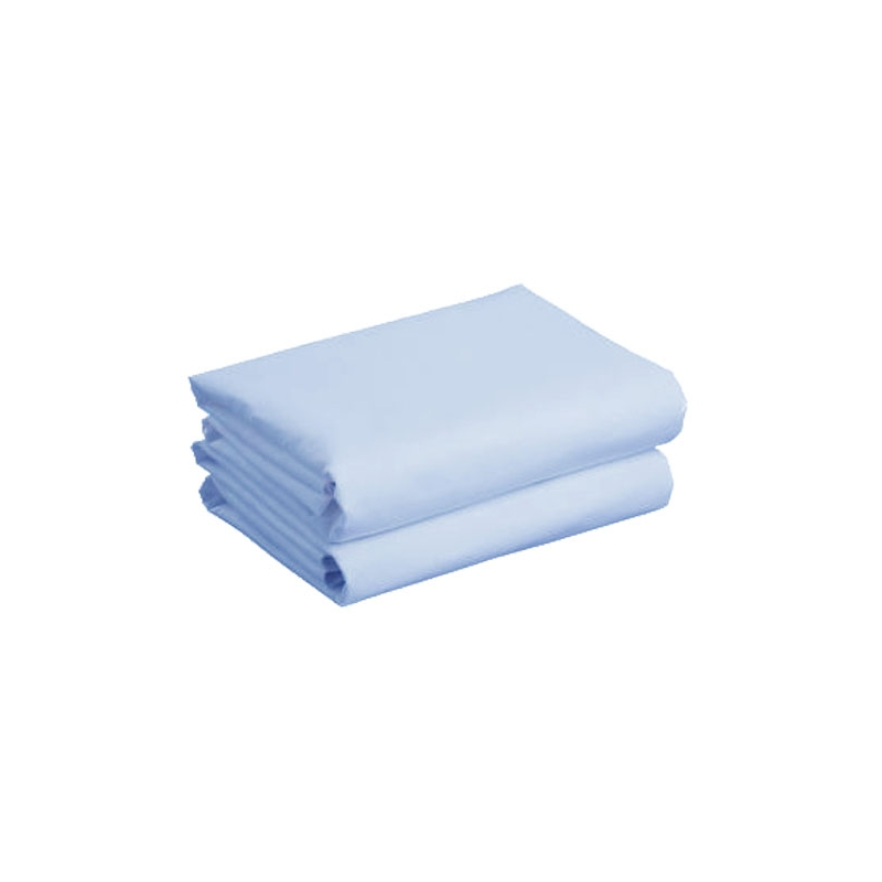 Kiddies Kingdom Deluxe 2 Pack Cotbed Jersey Fitted Sheet-Blue (142 x 70)