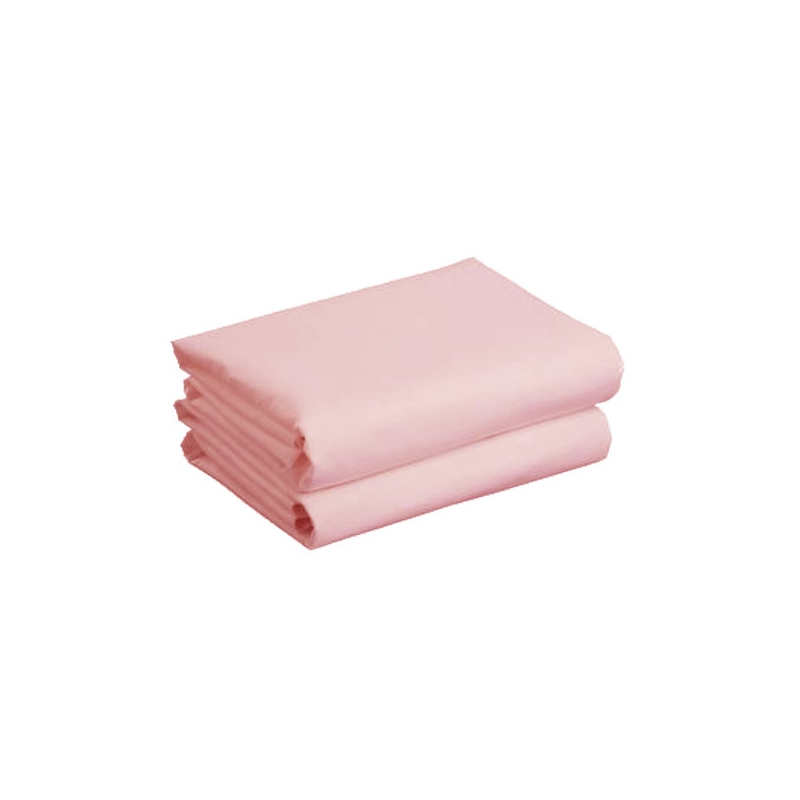 Kiddies Kingdom Deluxe 2 Pack Cotbed Jersey Fitted Sheet-Pink (142 x 70)