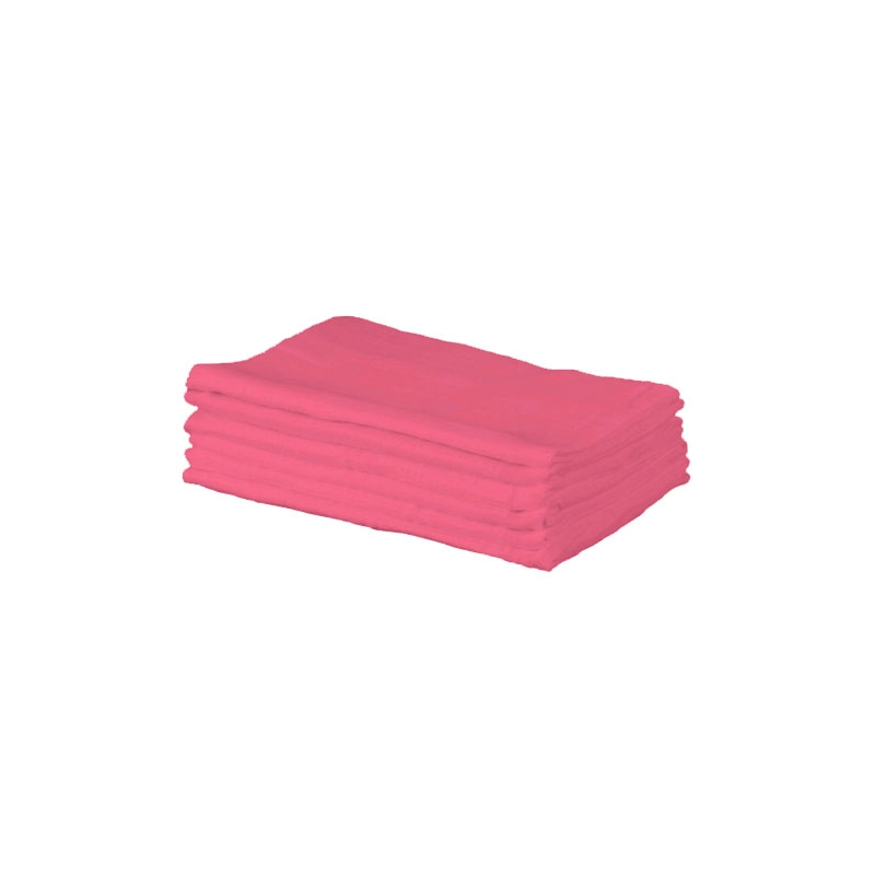 Kiddies Kingdom Deluxe 6 Pack Muslin Squares-Fuchsia