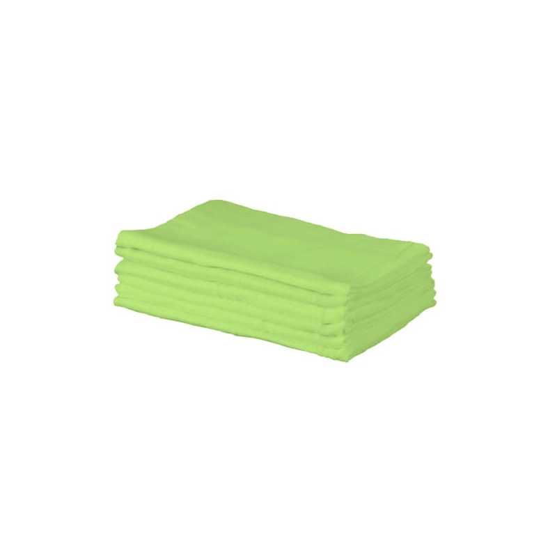 Kiddies Kingdom Deluxe 6 Pack Muslin Squares-Green
