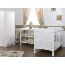 Obaby Grace 3 Piece Furniture Set-White