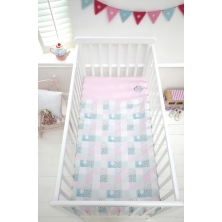 Baroo Cot Coverlet-Tweet Dreams (Large)
