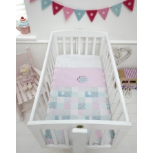 Baroo Crib Coverlet-Tweet Dreams