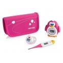 Miniland Thermokit Thermometer Set-Pink