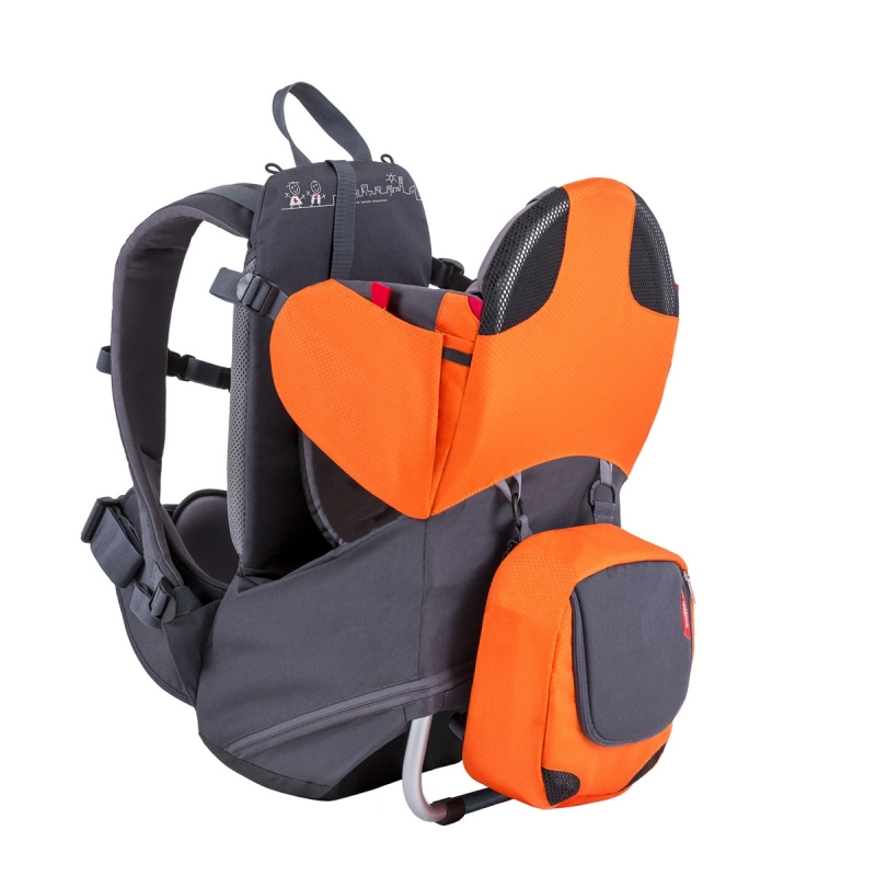 Phil and Teds Parade Baby Carrier-Blue