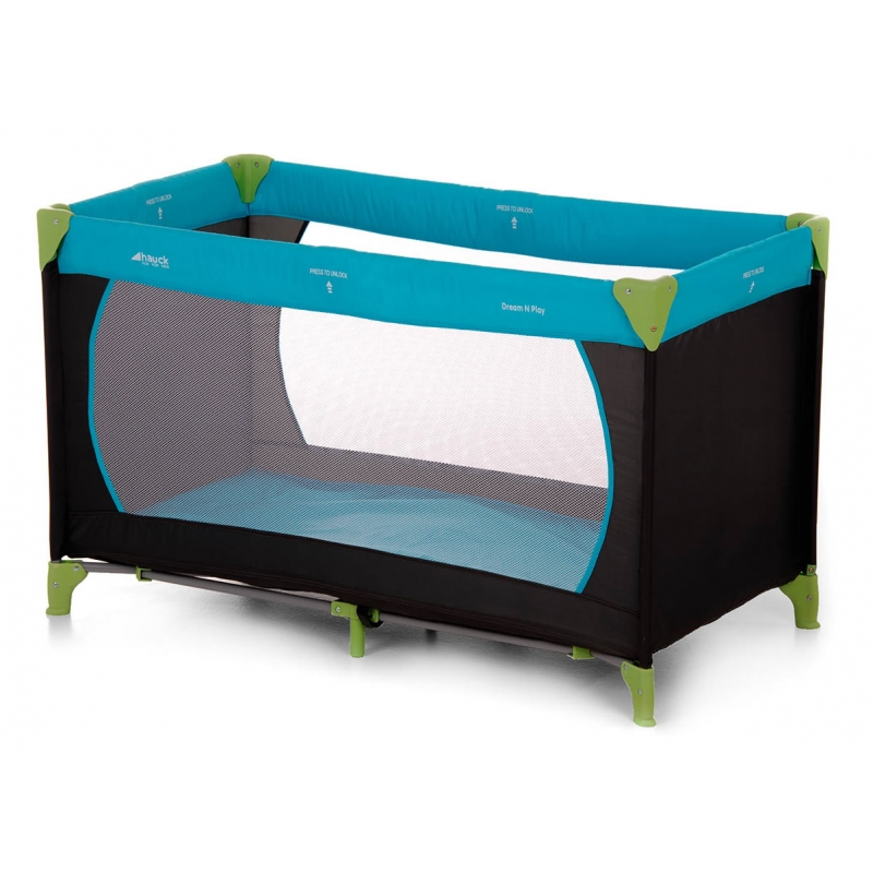 Hauck Dream'n Play Travel Cot-Waterblue (New 2015)