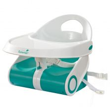 Summer Infant Sit 'N Style Booster Seat-Teal/White