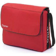 BabyStyle Oyster/Oyster Max Changing Bag-Tomato