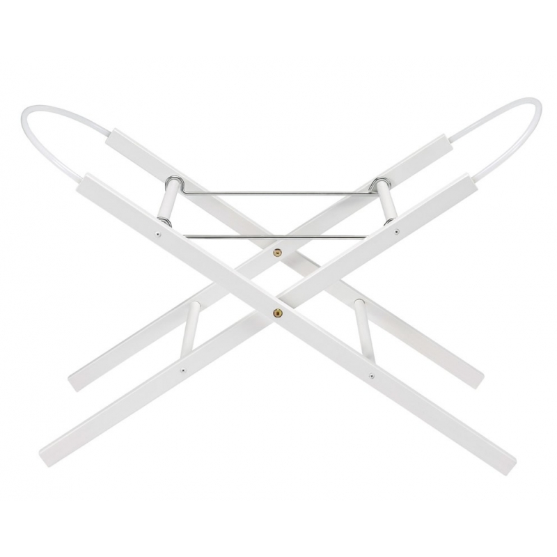 East Coast Moses Basket Stand-White