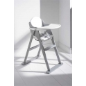East Coast Folding Highchair-White/Grey