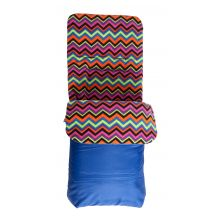 Red Kite Fleece Cosy Toes–Aztec Blue