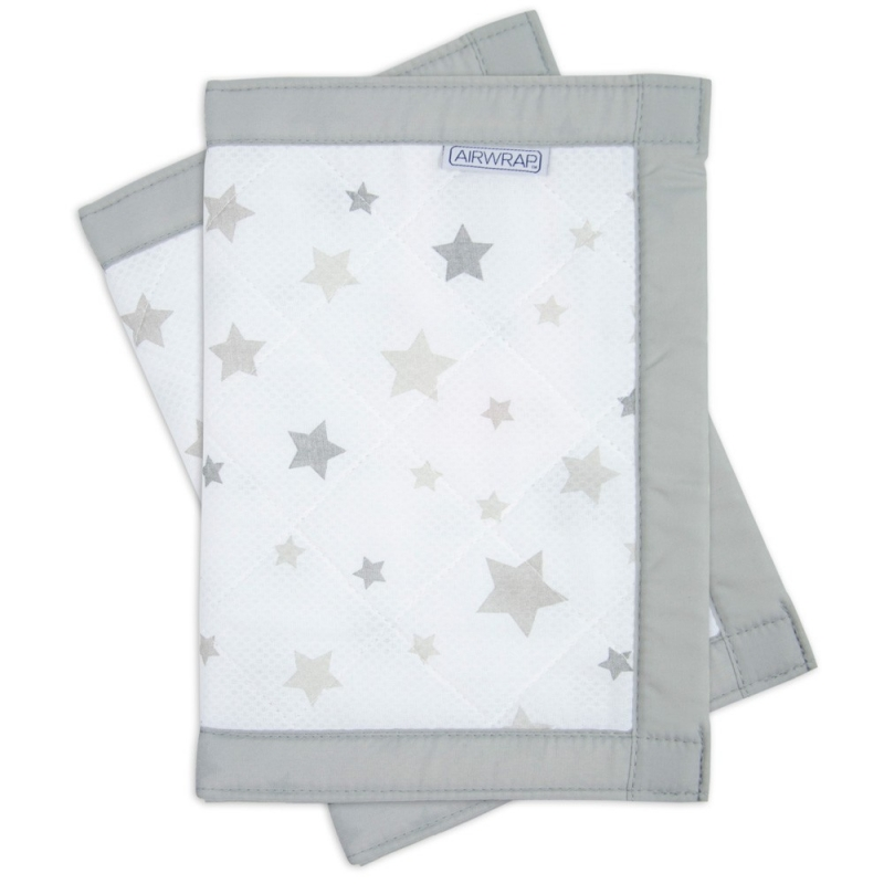 Airwrap 2 Sided Cot Protector-Blue Stars (New 2015)