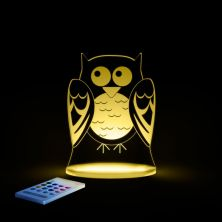 Aloka Multi Coloured Children's Night Light-Owl
