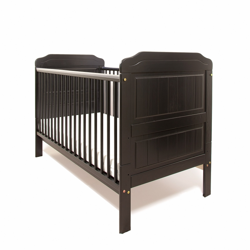 Little Babes Stanley Cotbed-Black