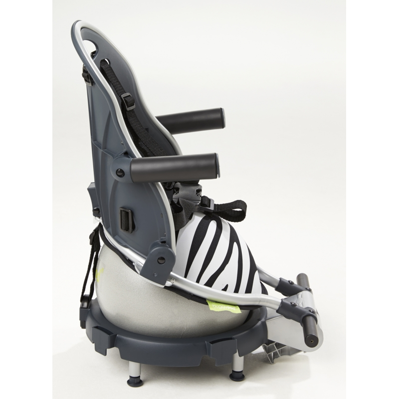 Buggypod Perle Clip On Board/Booster Seat-Zebra (New)