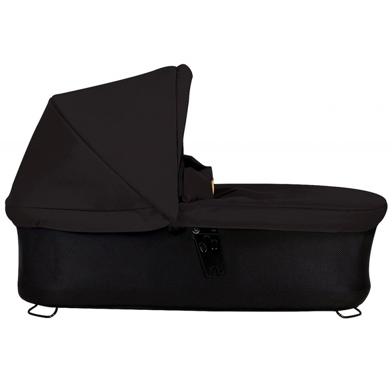Mountain Buggy Swift/Mini Carrycot Plus-Black (New)