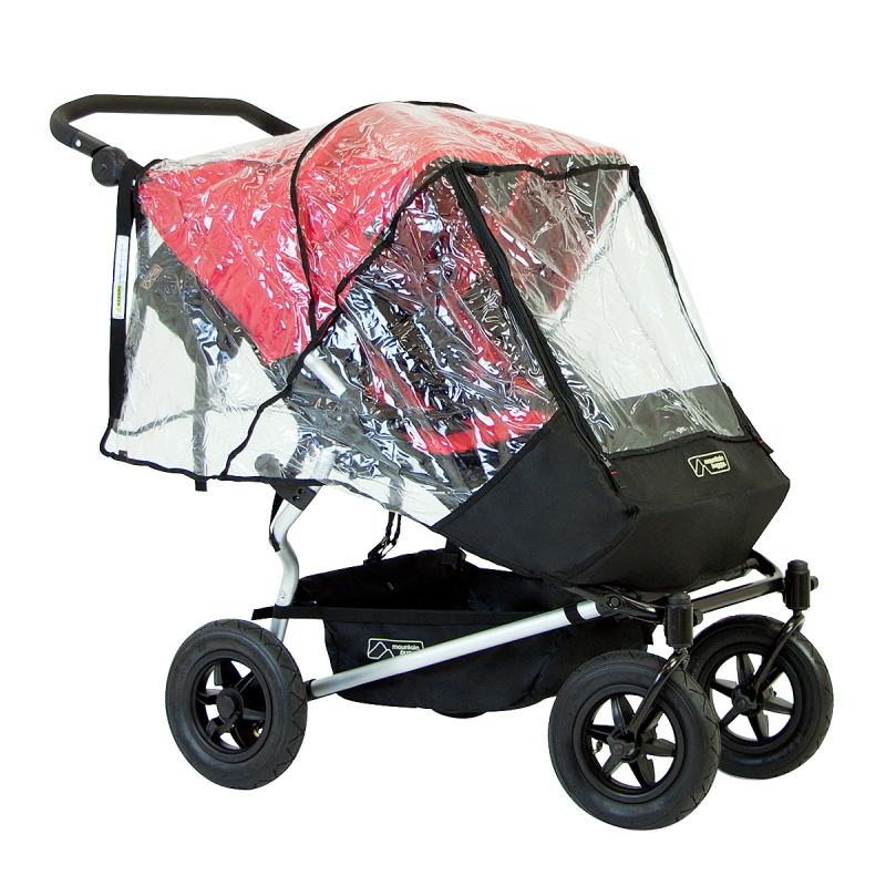 Mountain Buggy Duet Double Storm Raincover (New)
