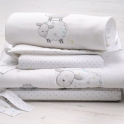 East Coast Silver Cloud 3pc Bedding Bale Set-Counting Sheep