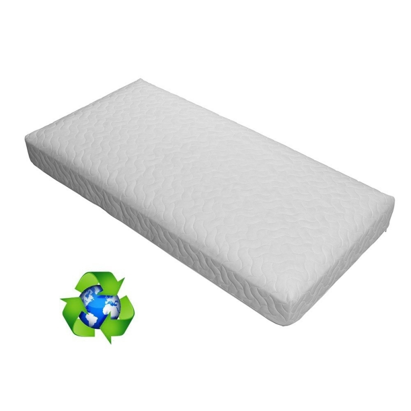 Ventalux Framed Pocket Spring Interior Non Allergenic Cot Bed Mattress-140x70
