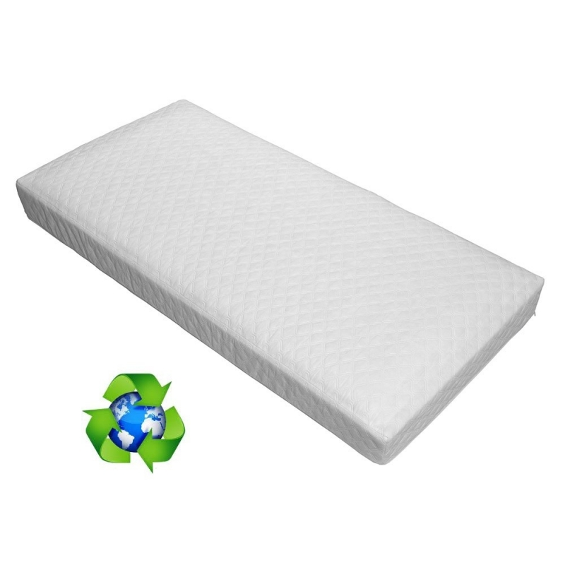 Ventalux Aircool Spring Interior Non Allergenic Cot Bed Mattress-140x70