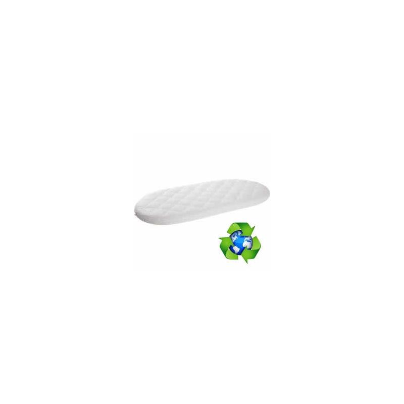 Ventalux Non Allergenic Fibre Quilt Covered Moses Basket Mattress-67x30
