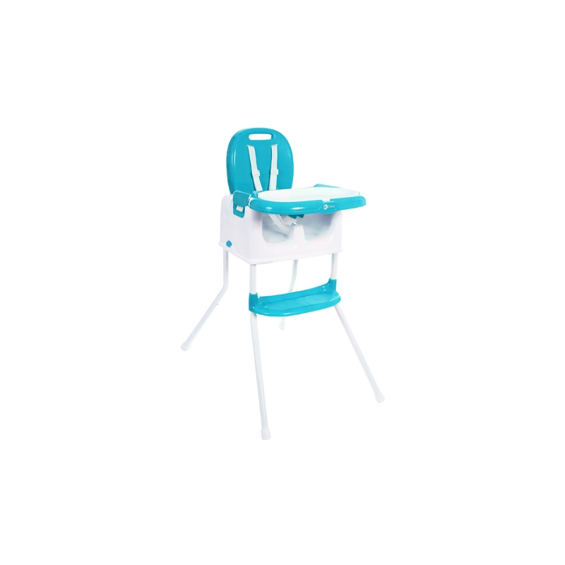 My Child Graze 3in1 Highchair, Booster & Stool-Aqua