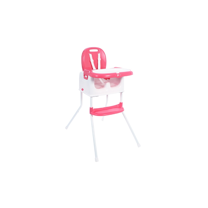 My Child Graze 3in1 Highchair, Booster & Stool-Pink