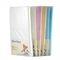 DK Glovesheets Fitted COTTON Sheet for Large Pram/Crib 95x40-(5 Colours)