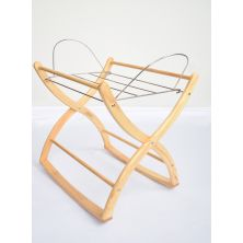 Izziwotnot Rocking Moses Basket Stand-Natural