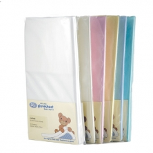 DK Glove Fitted Cotton Sheet for Large Travel Cot 105x75-(5 Colours)
