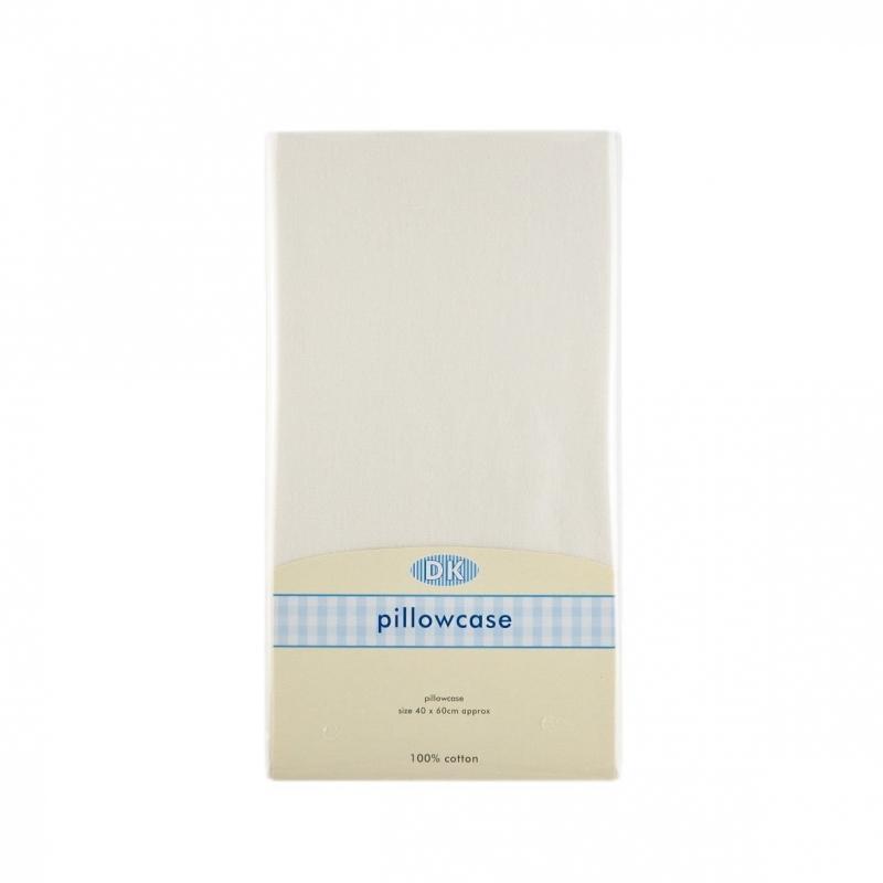 DK Glovesheet Organic Junior Pillowcase 37x58-Cream