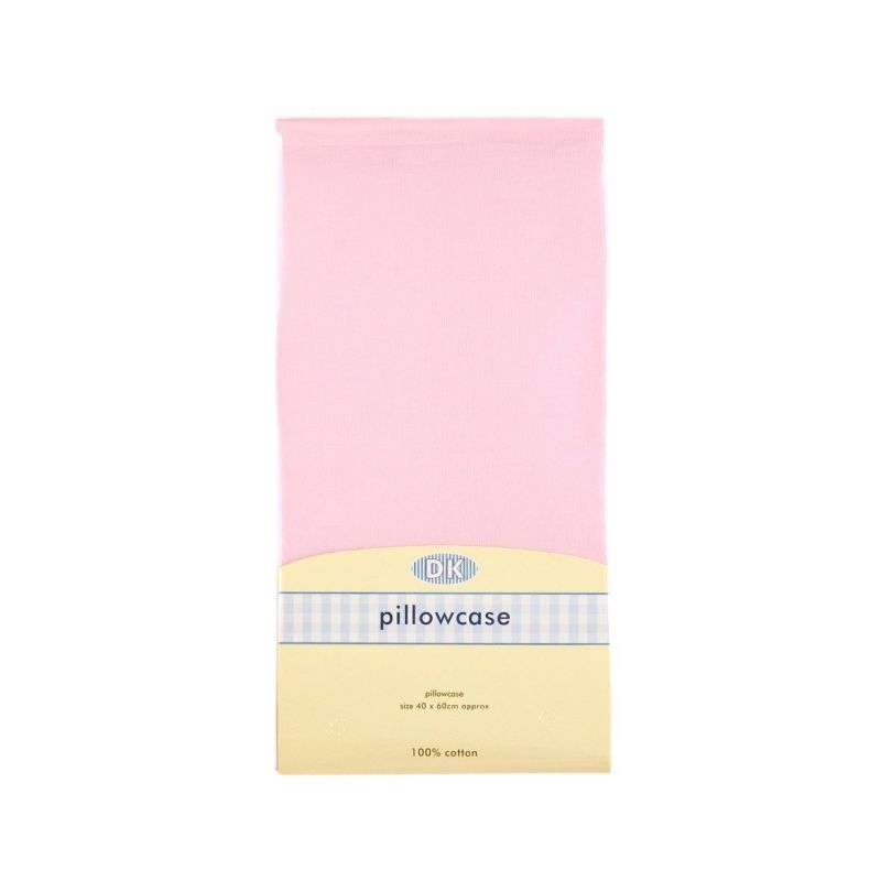 Image of DK Glovesheets Organic Junior Pillowcase 37x58-Pink