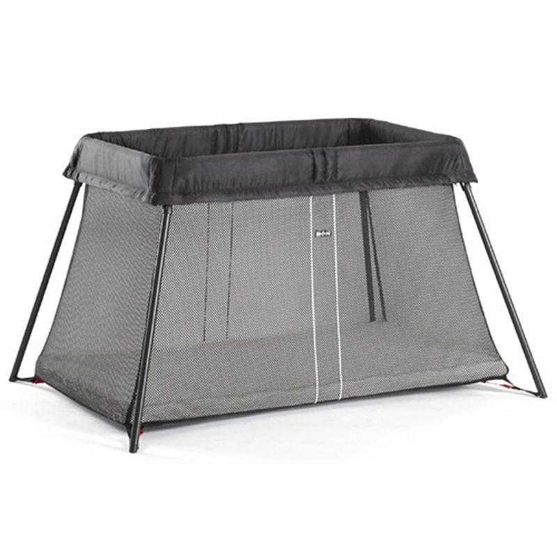 Image of BabyBjorn Travel Cot Light-Black (New 2018)