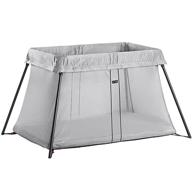 Image of BabyBjorn Travel Cot Light-Silver (New 2018)