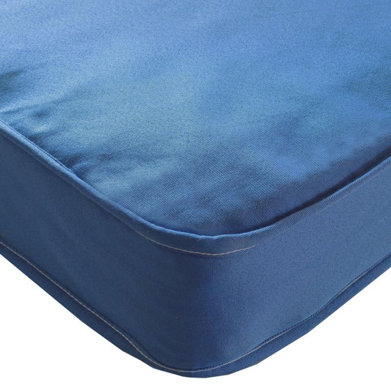 Kidsaw Single Sprung Mattress-Blue