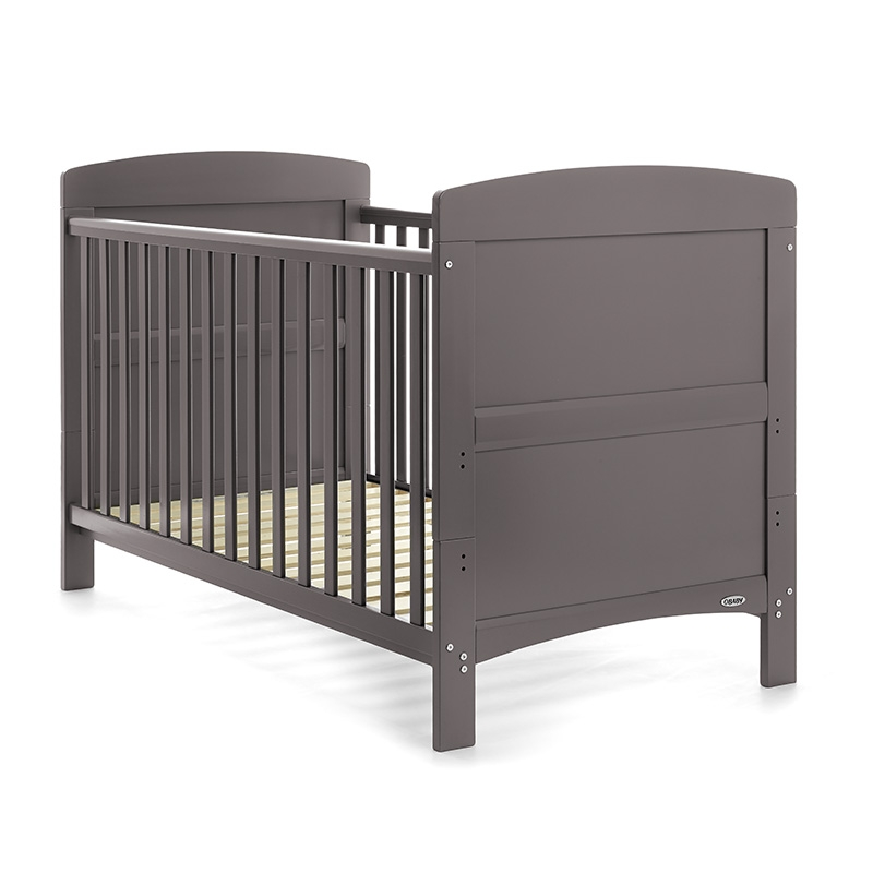 Obaby Grace Cot Bed-Taupe Grey (New 2015)