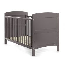 Obaby Grace Cot Bed-Taupe Grey + FREE Obaby Fibre Mattress Worth 34.99!