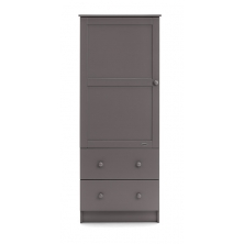 Obaby Single Wardrobe-Taupe Grey (New)