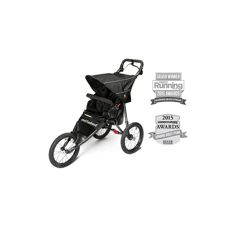 Out n About Nipper Sport V4 Stroller -Raven Black