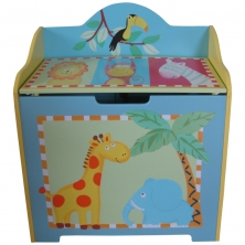 Liberty House Toys Kids Toy Box-Safari Animals