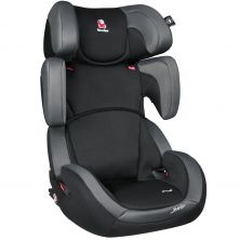 Renolux Step Fix Group 2/3 Car Seat-Total Black