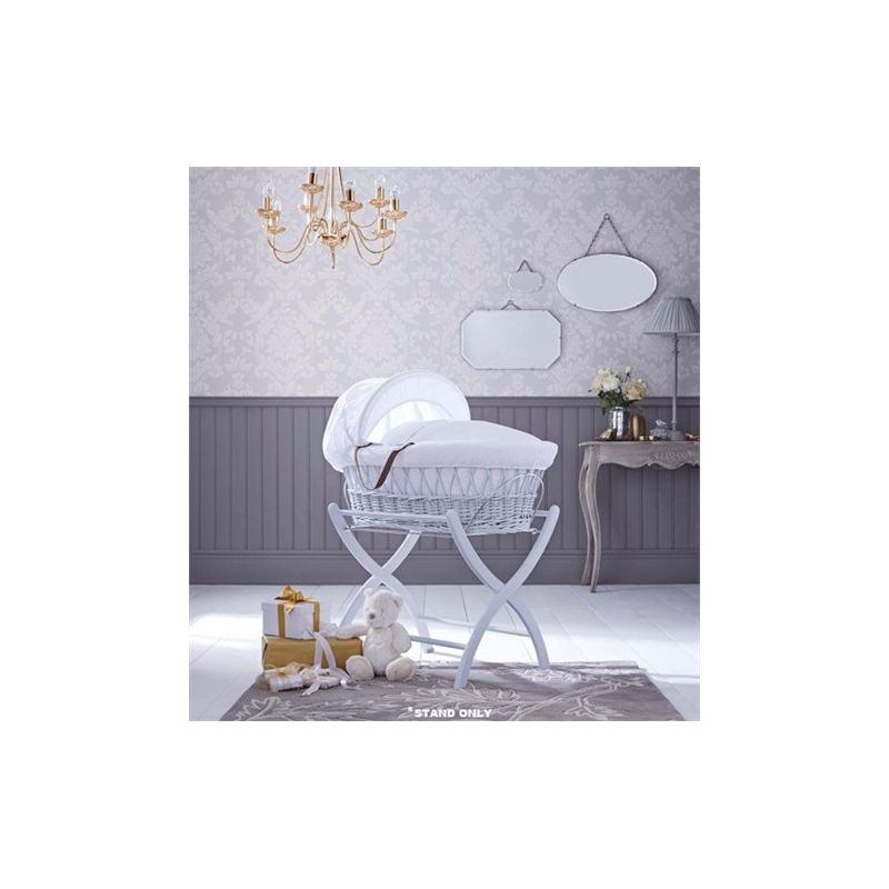 Izziwotnot Moses Basket Stand-Soft Grey