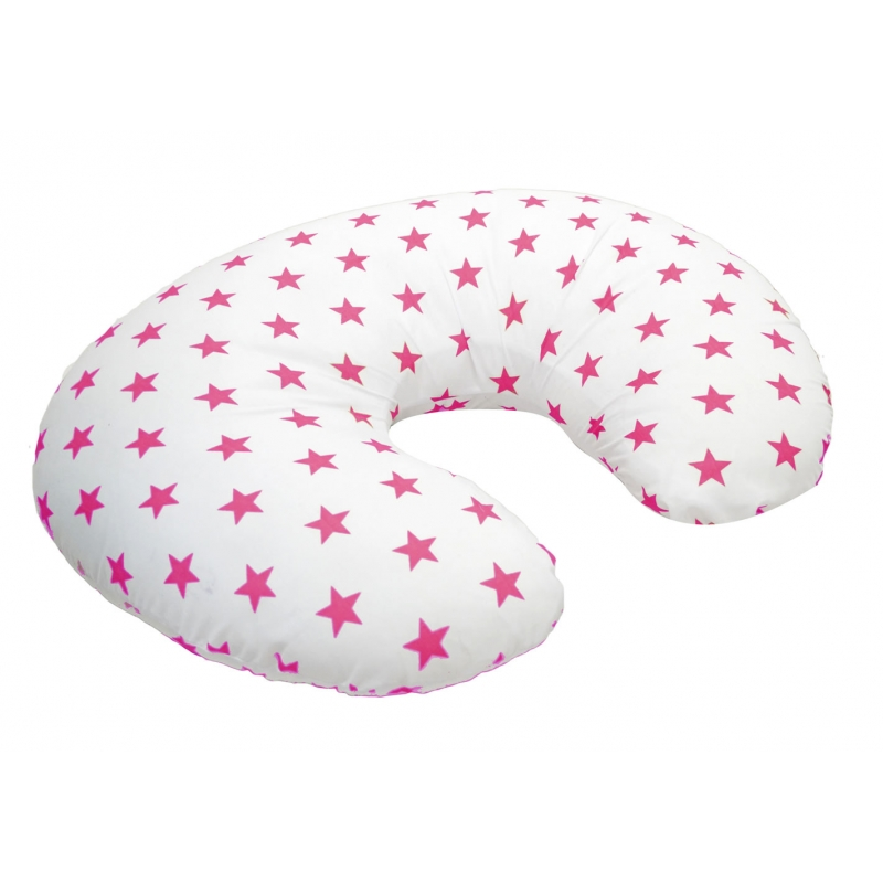 Kiddies Kingdom Deluxe 3in1 Twinkle Star Nursing Pillow-Pink