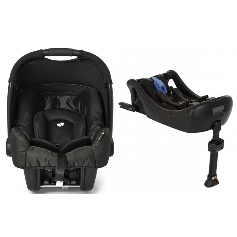 Joie Juva Gemm 0+ Car Seat With Isofix Base-Black Carbon (New 2015)