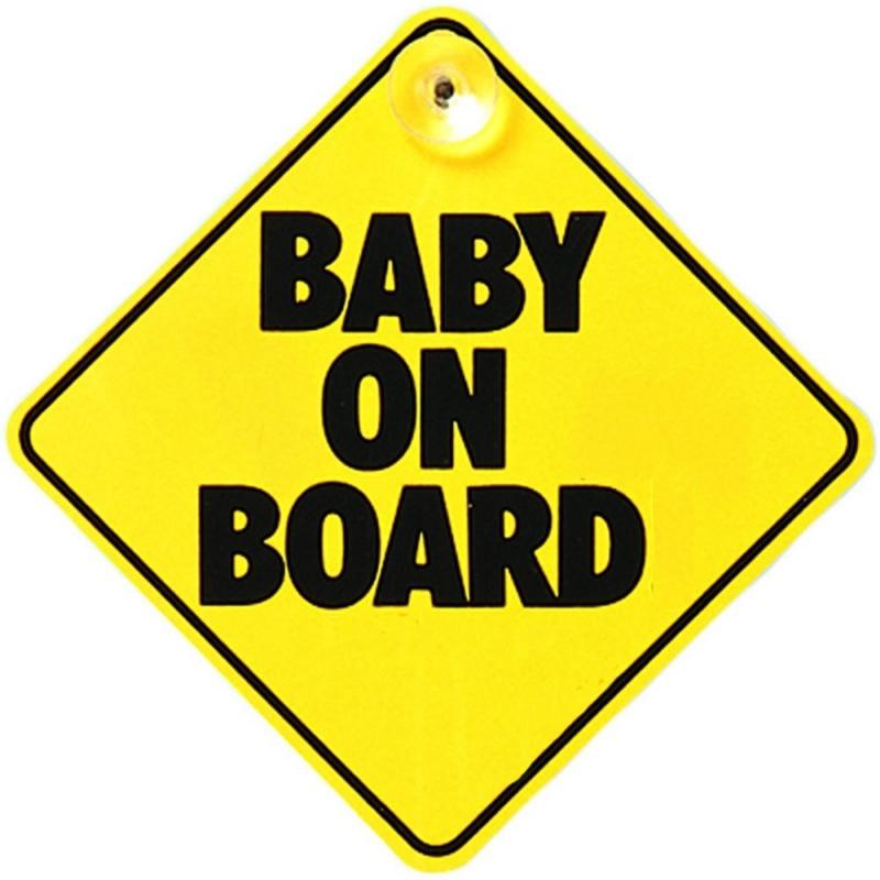 East Coast Baby On Board Sign
