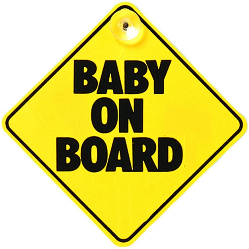 East Coast Baby On Board Sign
